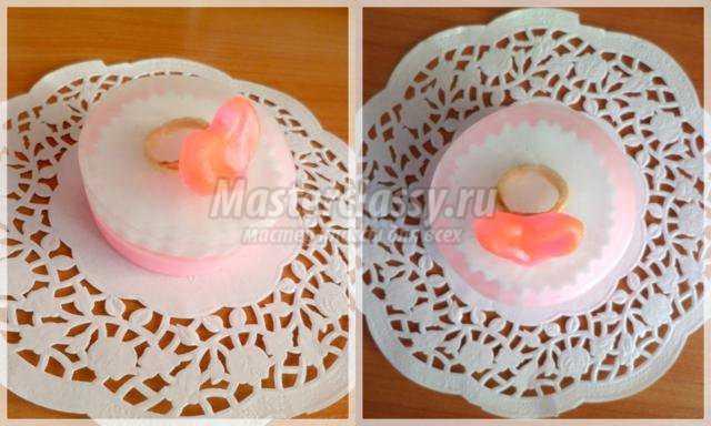 Романтическое мыло с кольцом