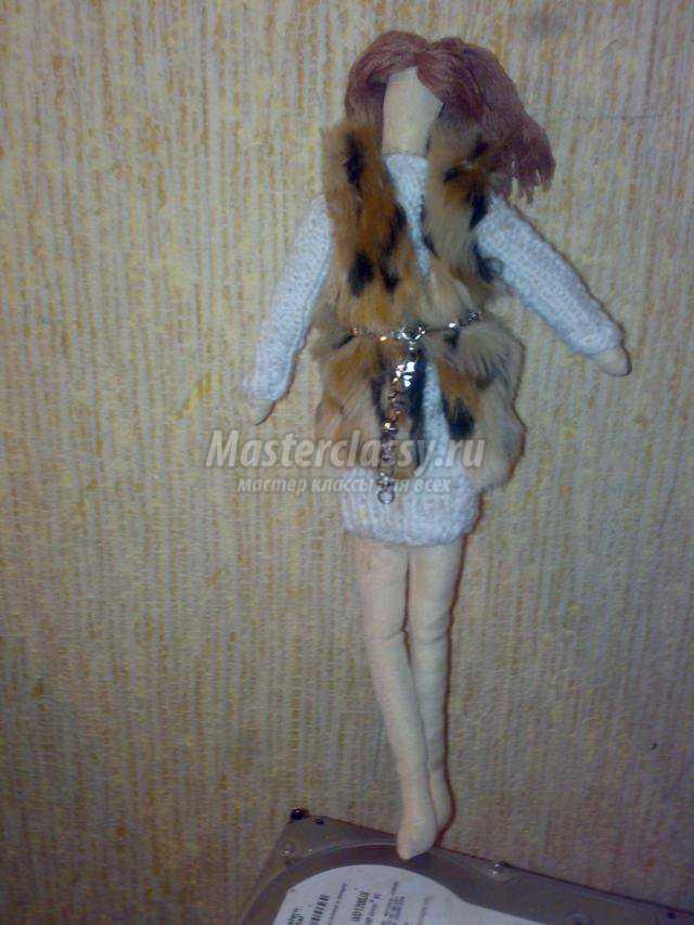 кукла Тильда-модница Инга
