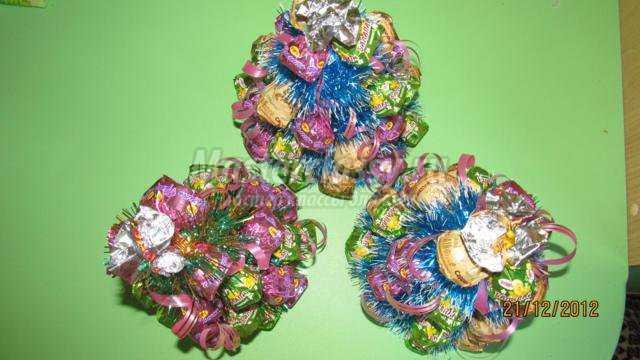елочки из конфет своими руками