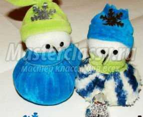 1356133920_anons Снеговик своими руками на Новый год из подручных материалов
