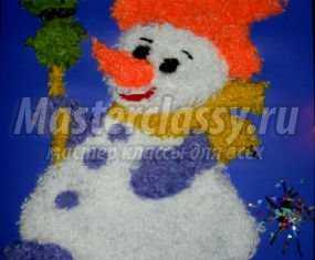 1357499967_anons Снеговик своими руками на Новый год из подручных материалов