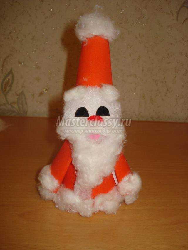 Дед мороз поделка на елку своими руками