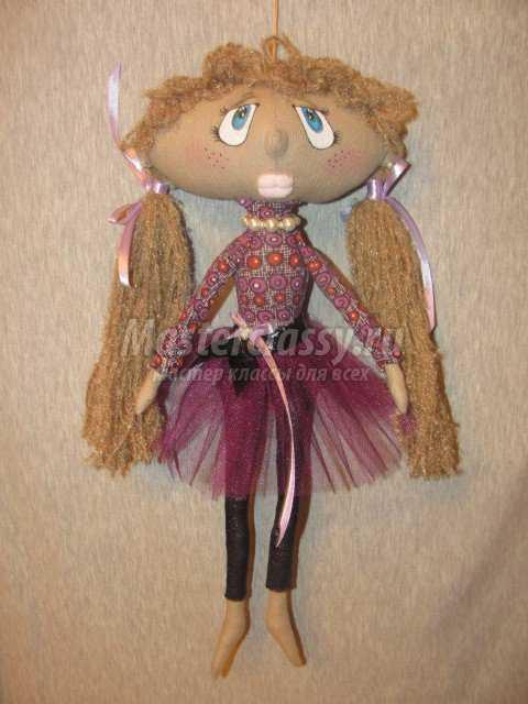 Кукла из текстиля своими руками