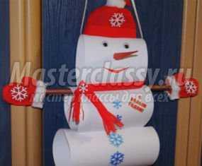 1358116220_anons Поделка снеговик своими руками