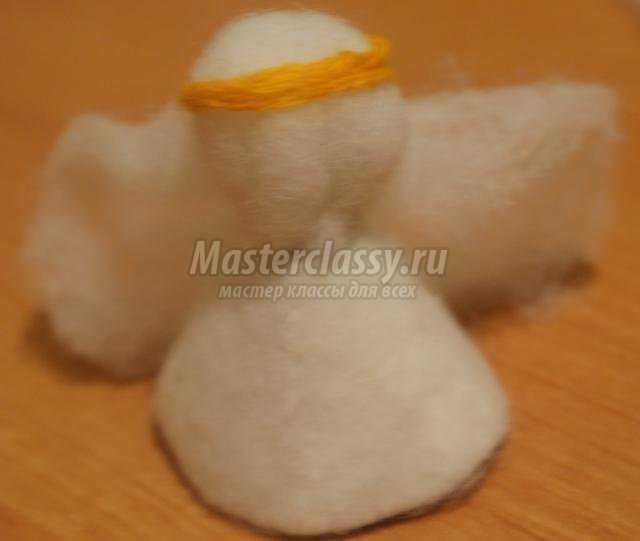 рождественский ангел из синтепона