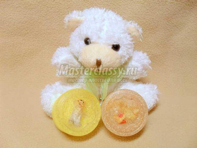 Детское мыло с игрушками своими руками