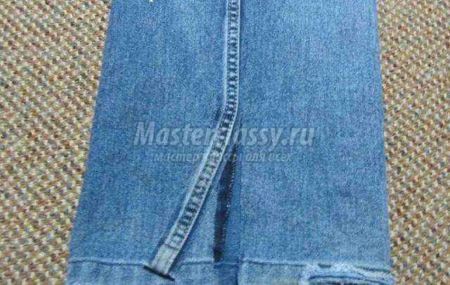 Из старых джинсов своими руками мастер классы фото 626