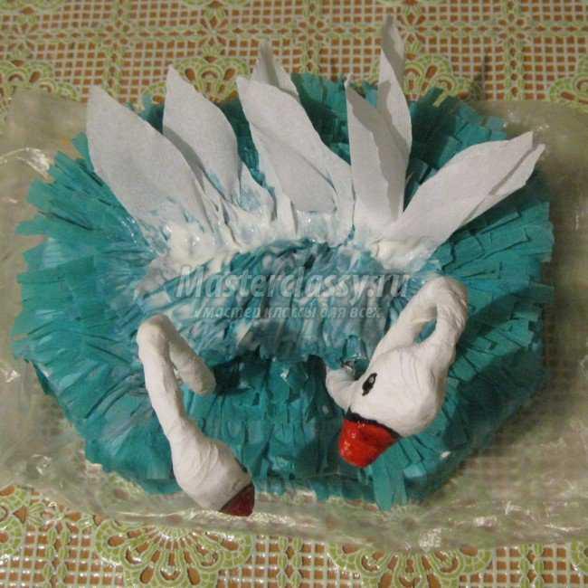 Свадебный мастер-класс Конфетные лебеди