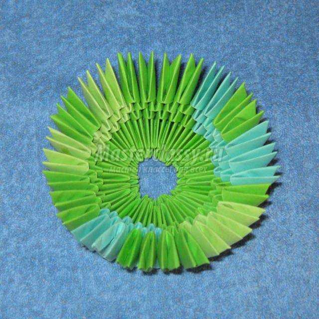 модульное оригами. Танк