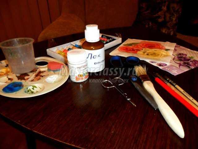 Декорирование журнального столика