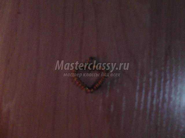 кулон-сердце ко дню Валентина