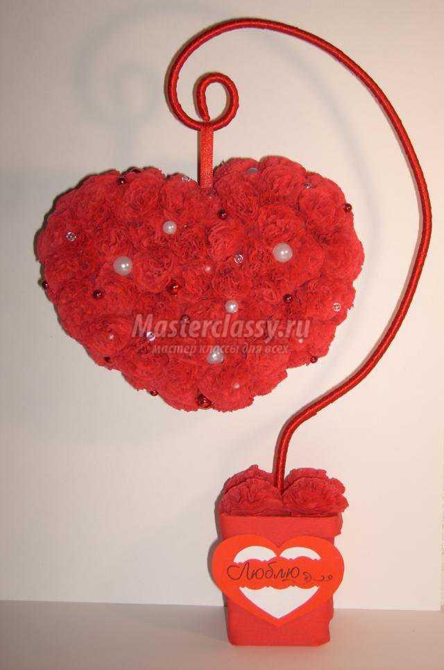 Как сделать топиарий сердце