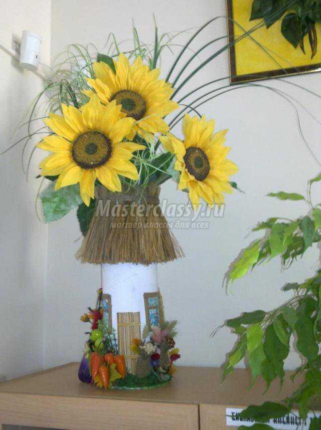 декоративная ваза. Хата