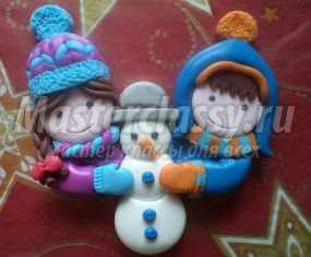 1361048862_normanons Снеговик своими руками на Новый год из подручных материалов