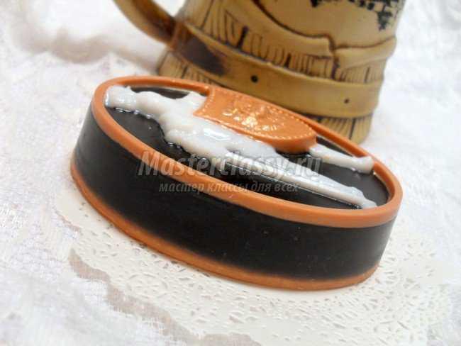 Праздничное мыло для любимого своими руками. Рыцарь