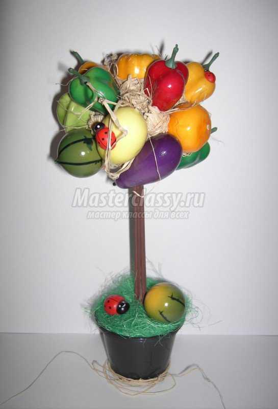 Топиарий из овощей