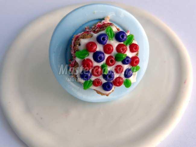 кольцо пироженое