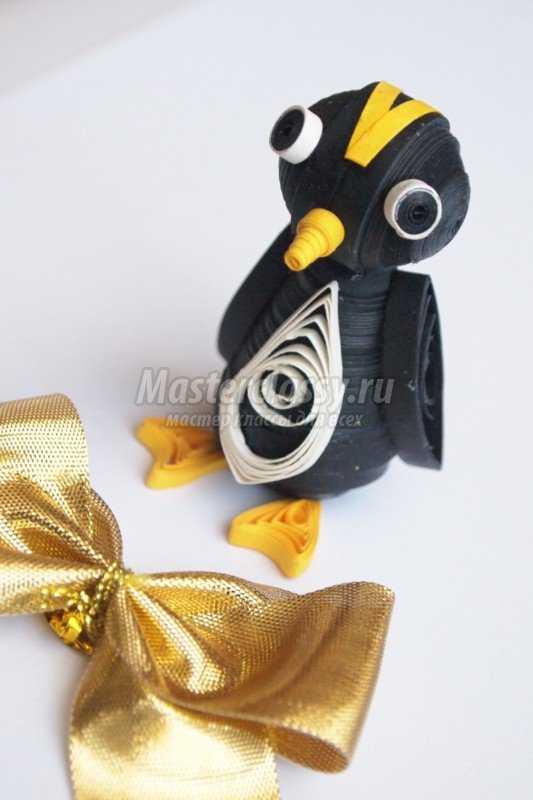 квиллинг. Пингвин