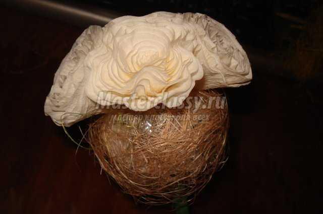 Свадебный топиарий из роз