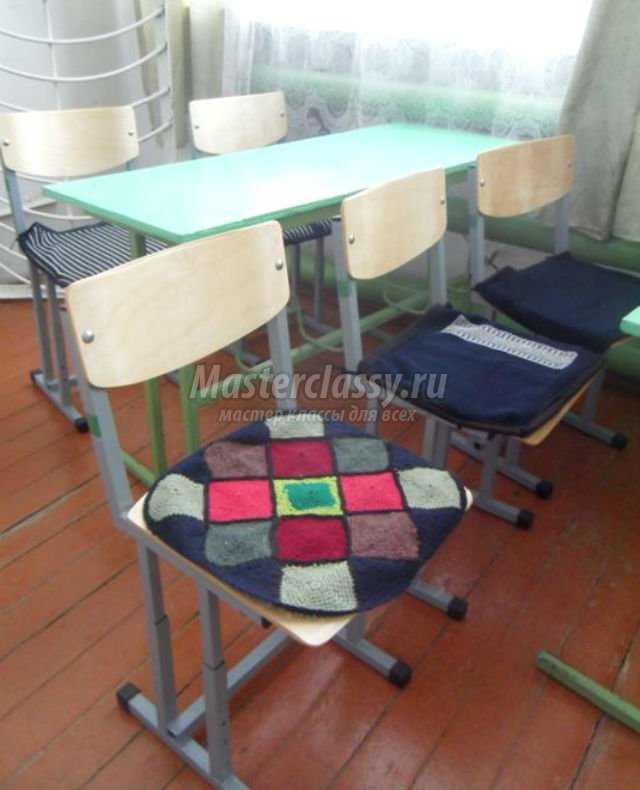 вязание крючком накидки на стулья мастер класс с пошаговым фото