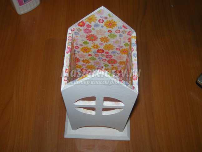 Декупаж чайного домика: мастер-класс, фото :: site.ru