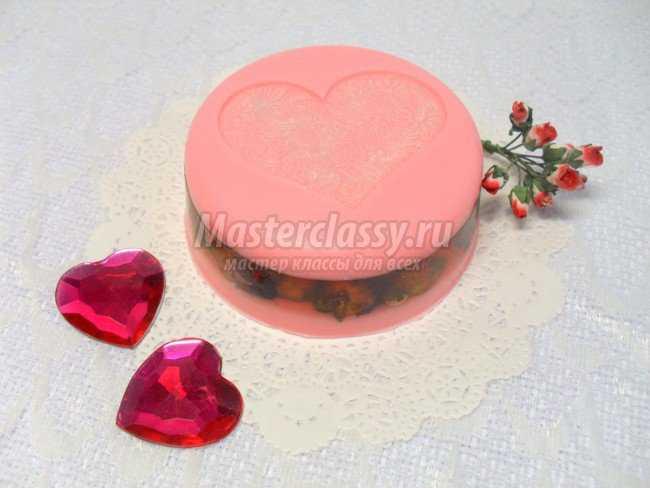Мыло с сухоцветом розы
