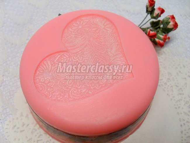 Мыло Love rose с сухоцветом розы