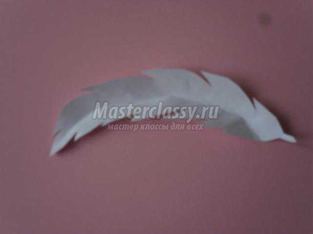 панно из бумажных тарелочек