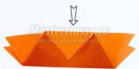Как сделать ромашку в технике оригами. Мастер класс