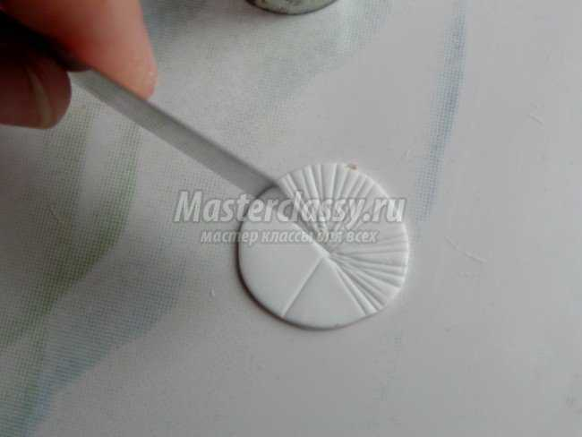 Сережки. Мухомор из полимерной глины