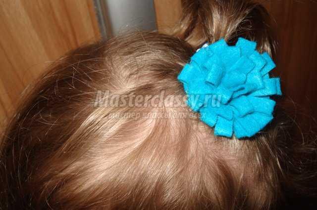 Резинка для девочки с цветком