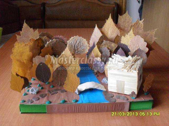 Как сделать лес из природного материала 27