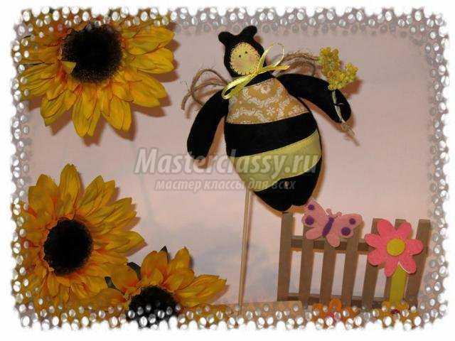Тильда пчелка. Мастер класс