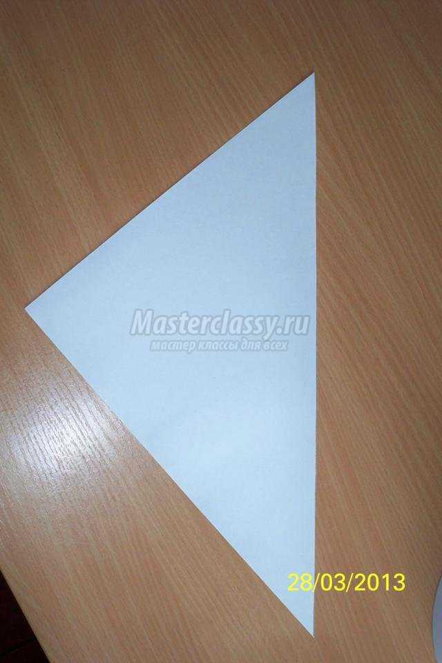 пасхальные поделки из бумаги. Курица