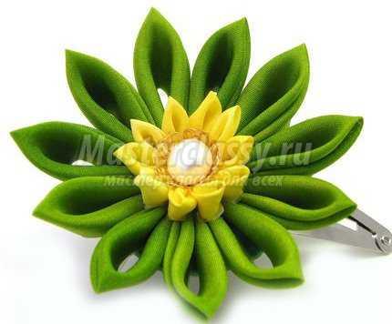 Цветы канзаши. Мастер класс