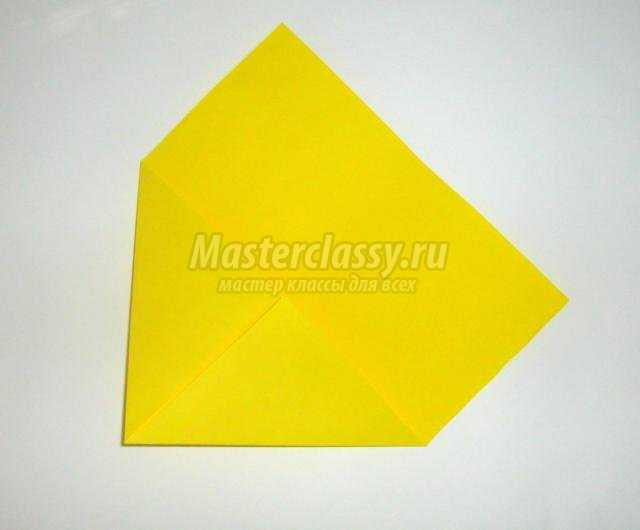 оригами для детей. Рыбка