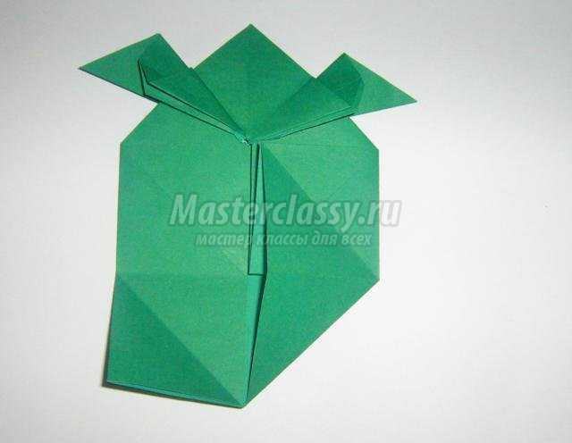 оригами для детей. Черепаха