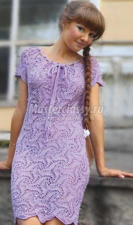Платье элизабет крючком схема фото 906