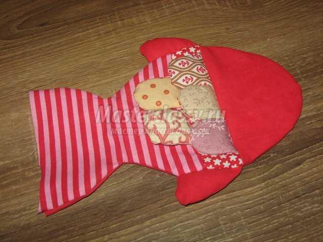Детская развивающая игрушка – рыбка от 0 до 3 лет