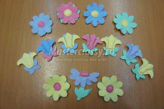 Цветы из вискозных салфеток своими руками