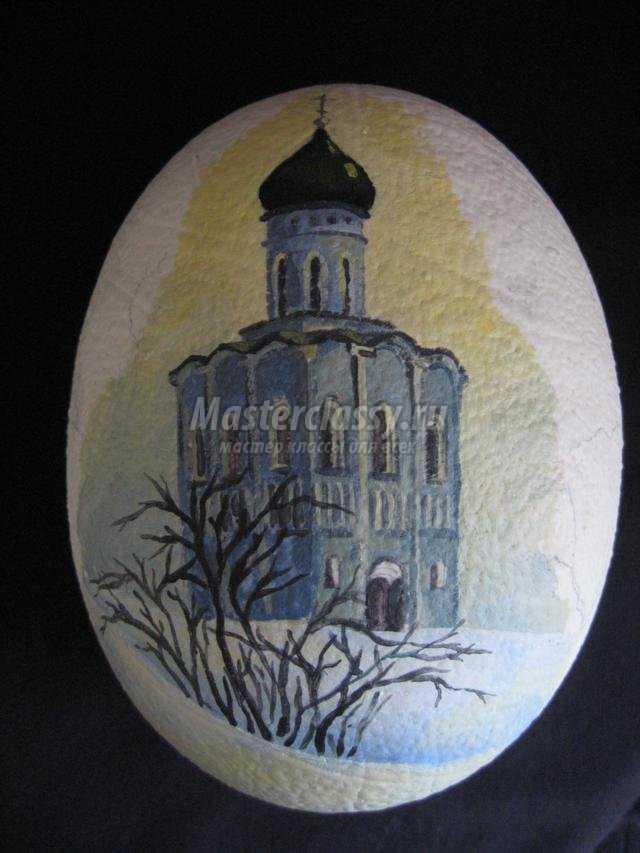 пасхальное яйцо-сувенир с цветами
