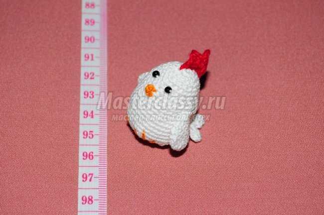 Амигуруми. Курица с цыплятами крючком