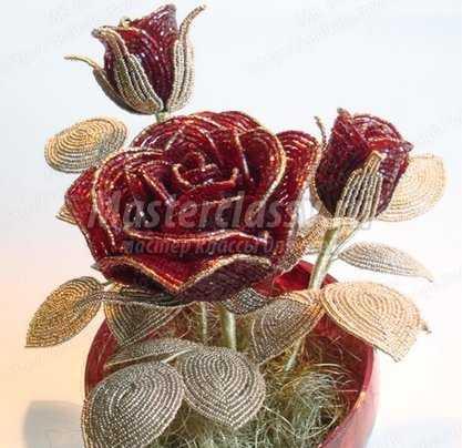 Розы. Мастер класс