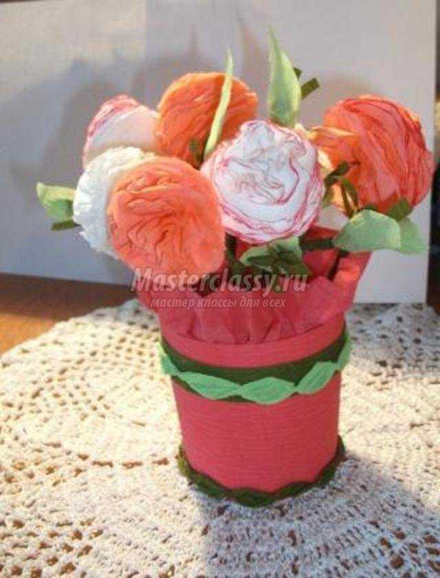 Как сделать корзинку для цветов своими руками фото 628