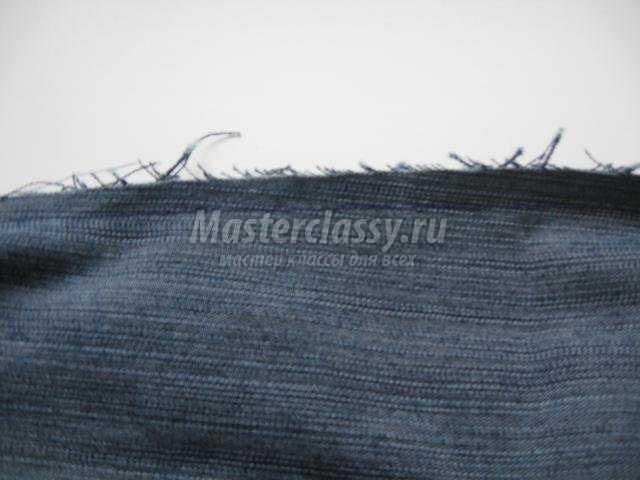 рюкзак из джинсовой ткани