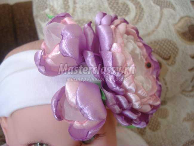 Цветы Дюшес своими руками