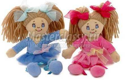 Изготовление каркасной куклы своими руками. Мастер 62