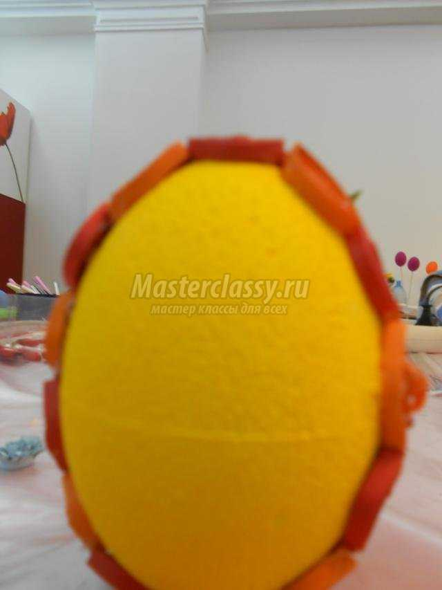 квиллинг. пасхальное яйцо