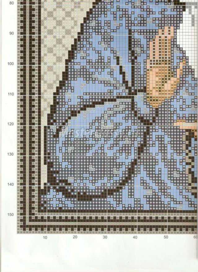 Схема вышивки крестом матроны бесплатно