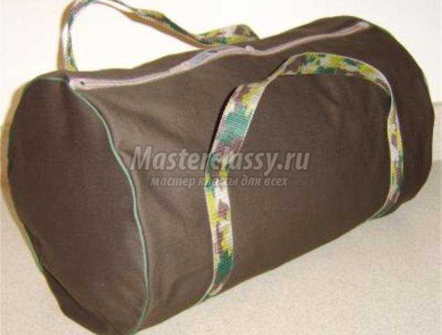 f9395e05f90e Спортивная сумка своими руками. Выкройка и описание